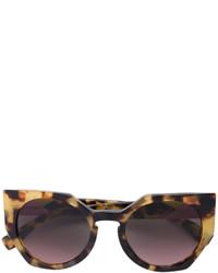 Gafas de sol en marrón oscuro