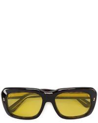 Gafas de sol en marrón oscuro de Gucci