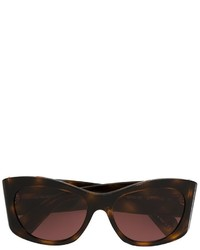 Gafas de sol en marrón oscuro de Oliver Peoples
