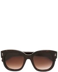 Gafas de sol en marrón oscuro de Stella McCartney