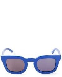 Gafas de sol en negro y azul