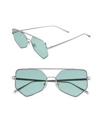 Gafas de sol en verde menta