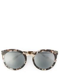 Gafas de sol estampadas grises de Dolce & Gabbana