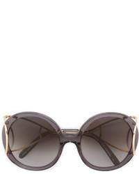 Gafas de Sol Gris Oscuro de Chloé