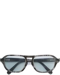 Gafas de sol grises de Brioni