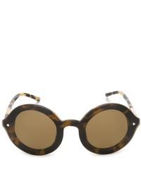 Gafas de sol marrón claro de Linda Farrow Gallery