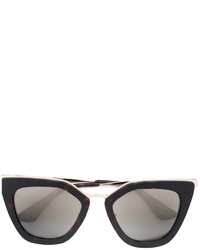 Gafas de sol marrón claro de Prada