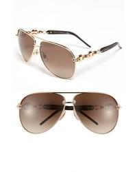 Gafas de Sol Marrónes y Doradas