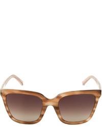 Gafas de sol marrónes de Linda Farrow