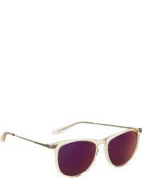 Gafas de sol morado oscuro