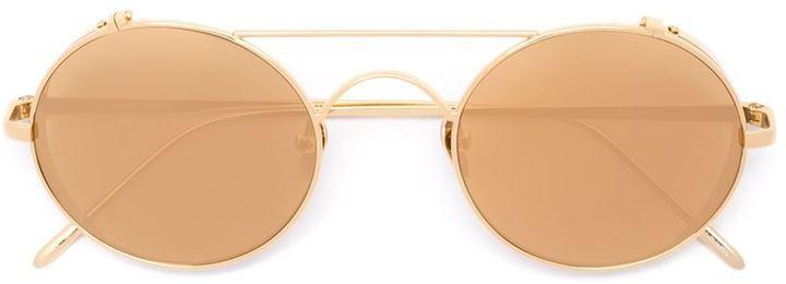 Gafas de Sol Naranjas de Linda Farrow