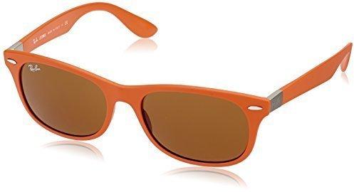 740c0fb3ec9e1 ... Gafas de sol naranjas de Ray-Ban ...