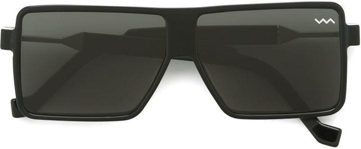 Gafas de sol negras de Va Va