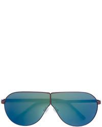 Gafas de sol plateadas de Linda Farrow Gallery