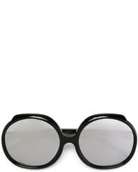 Gafas de Sol Plateadas de Linda Farrow