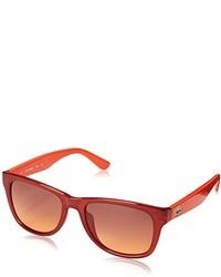 Gafas de sol rojas de Lacoste