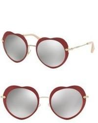 Gafas de Sol Rojas de Miu Miu