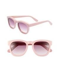 Gafas de sol rosadas
