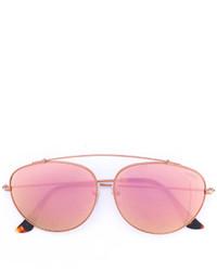 Gafas de sol rosadas de RetroSuperFuture