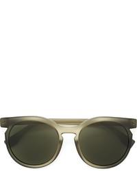 Gafas de Sol Verde Oliva de Fendi