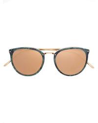 Gafas de sol verde oliva de Linda Farrow