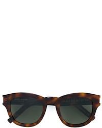 Gafas de sol verde oscuro de Saint Laurent