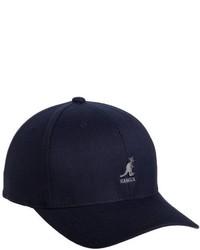 Gorra de béisbol azul marino de Kangol