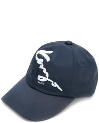 Gorra de béisbol azul marino de Kenzo