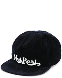 Gorra de béisbol azul marino de Off-White