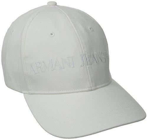 518f782044b85 ... Gorra de béisbol blanca de Armani Jeans ...