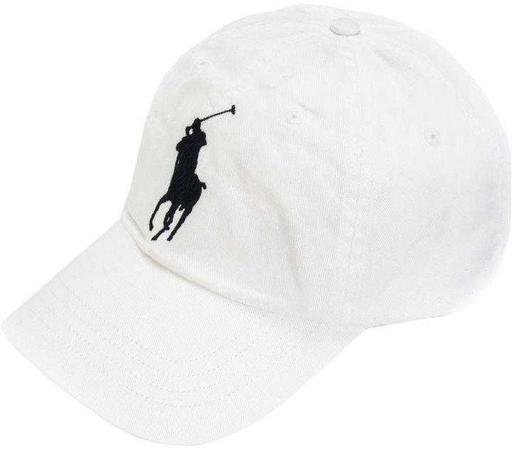 ... Gorra de béisbol blanca de Polo Ralph Lauren 92301ab749c