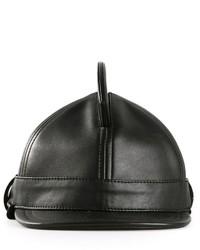 Gorra de béisbol de cuero negra de Kokon To Zai