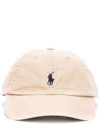 Gorra de béisbol en beige de Polo Ralph Lauren