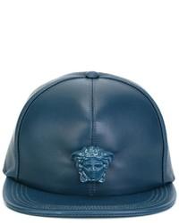 Gorra de béisbol en verde azulado de Versace