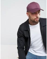 Gorra de béisbol en violeta
