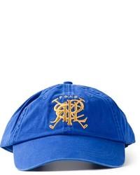 Gorra de béisbol estampada azul de Polo Ralph Lauren