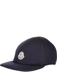 Gorra de béisbol estampada en azul marino y blanco