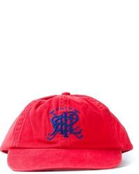 Gorra de béisbol estampada roja de Polo Ralph Lauren