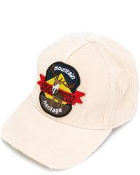 Gorra de béisbol marrón claro de DSQUARED2