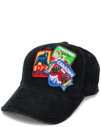 Gorra de Béisbol Negra de DSQUARED2