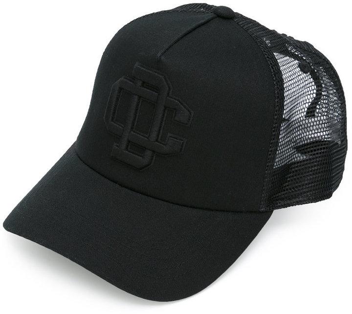 ... Gorra de béisbol negra de DSQUARED2 05945ad183e