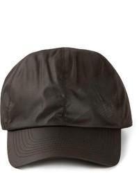 Gorra de béisbol negra de Emporio Armani