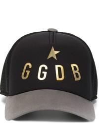 Gorra de béisbol negra de Golden Goose Deluxe Brand
