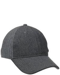 Gorra de béisbol negra de Haggar