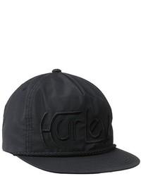 Gorra de béisbol negra de Hurley