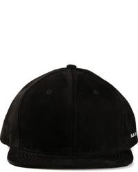Gorra de béisbol negra de Stampd