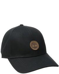 Gorra de béisbol negra de Timberland