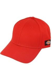 Gorra de béisbol roja de Dickies