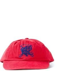 Gorra de béisbol roja de Polo Ralph Lauren