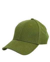 Gorra de béisbol verde oliva